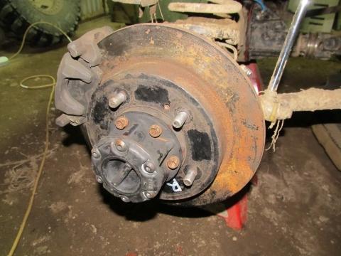 Как сделать блокировку колес 343