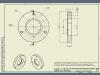 фланец под 306 подшипник (короткая сторона) - родная крышка
